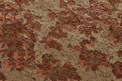 Textura del fondo del acero y del extracto Rusted Fotografía de archivo