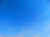 Textura del fondo del cielo y de la nube Fotografía de archivo libre de regalías