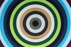 Textura del fondo del papel coloreado en círculos Imagen de archivo