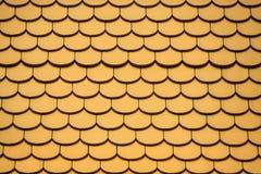 Textura del fondo del tejado del templo Fotos de archivo