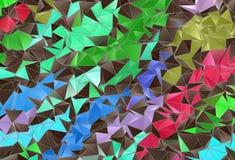 Textura del fondo del mosaico Foto de archivo