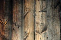 Textura del fondo Pared de madera marr?n vieja fotografía de archivo