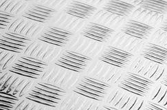 Textura del fondo plateado de metal imagenes de archivo