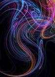 Textura del fractal Fotos de archivo libres de regalías