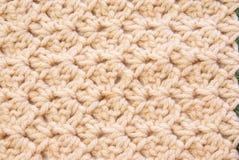 Textura del ganchillo Imagen de archivo libre de regalías