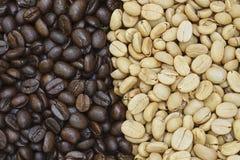 Textura del grano de café Fotografía de archivo