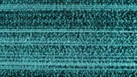 Textura del grano del movimiento del ruido de la difusión de TV que destella