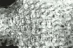 Textura del Grunge de un viejo trozo de papel rasguñado y doblado fotografía de archivo