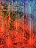 Textura del grunge/fondo calientes y frescos Fotografía de archivo