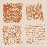 Textura del Grunge - plantilla común abstracta del vector stock de ilustración