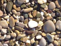 Textura del guijarro Foto de archivo libre de regalías