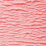 Textura del helado de la fresa Imágenes de archivo libres de regalías