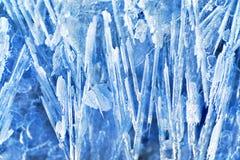 Textura del hielo Foto de archivo libre de regalías