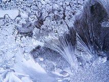 Textura del hielo Fotografía de archivo