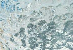 Textura del hielo Fotos de archivo