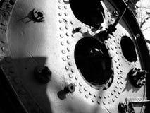 Textura del hierro Fotografía de archivo