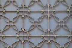 Textura del hierro del modelo de la trabajo de metalistería Fotos de archivo libres de regalías