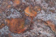 Textura del hierro oxidado Fotos de archivo libres de regalías