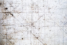 Textura del hierro viejo con el rasguño Fondo Fotos de archivo