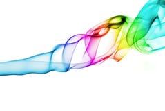 Textura del humo coloreado Imagen de archivo libre de regalías