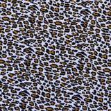 Textura del leopardo rayado de la tela Fotografía de archivo libre de regalías
