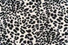 Textura del leopardo rayado de la tela Imagen de archivo libre de regalías