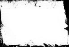 Textura del marco del Grunge - elementos del diseño imagenes de archivo