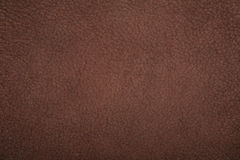 Textura del marrón del lether de la gamuza Imágenes de archivo libres de regalías