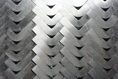 Textura del metal del ángulo fotografía de archivo