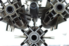 Textura del metal foto de archivo libre de regalías