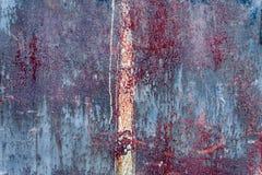 Textura del metal con los rasguños y las grietas Foto de archivo