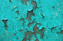 Textura del metal con los rasguños y las grietas Foto de archivo libre de regalías