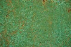 Textura del metal con los rasguños y las grietas Fotos de archivo