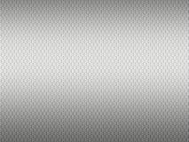 Textura del metal 3D con el modelo hexagonal stock de ilustración