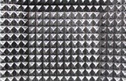 Textura del metal de Grunge la placa de metal se refleja en la tabla Fotografía de archivo