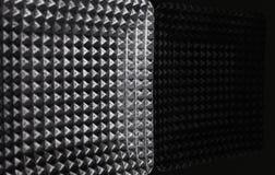 Textura del metal de Grunge la placa de metal se refleja en la tabla Fotos de archivo libres de regalías