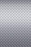 Textura del metal de la placa del diamante Imagen de archivo