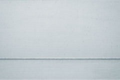 Textura del metal de la puerta del garaje Imagenes de archivo