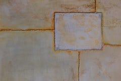 Textura del metal del estilo del desván vieja Fotos de archivo