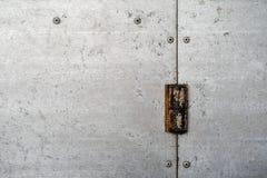 Textura del metal galvanizado Imagen de archivo libre de regalías