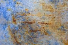 Textura del metal oxidado Imagenes de archivo