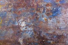 Textura del metal oxidado Imagen de archivo libre de regalías