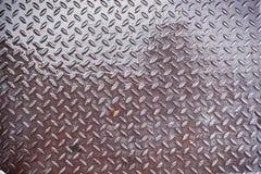 Textura del metal y modelo del acero Fotos de archivo