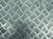 Textura del modelo de Grunge de plateado de metal Foto de archivo libre de regalías