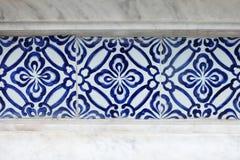 Textura del modelo de la pared de la teja de la porcelana Imágenes de archivo libres de regalías