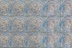 Textura del modelo de la simetría de la teja foto de archivo libre de regalías