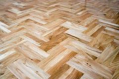 Textura del mosaico de madera Imagenes de archivo