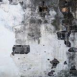 Textura del muro de cemento y del ladrillo viejos del cemento Imagen de archivo