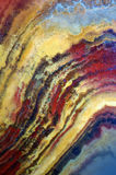 Textura del ónix de la piedra preciosa Fotografía de archivo libre de regalías