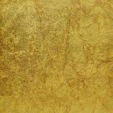 Textura del oro Fotografía de archivo